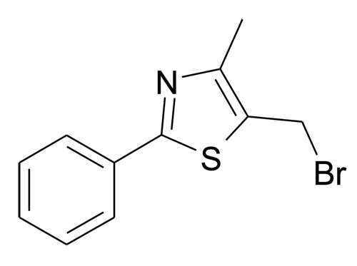 5-Bromomethyl-4-methyl-2-phenyl-thiazole