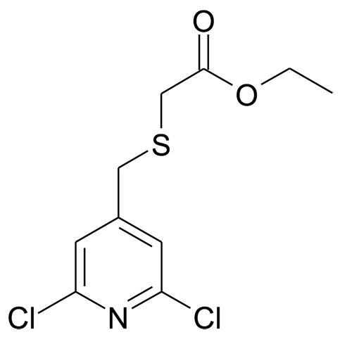 (2,6-Dichloro-pyridin-4-ylmethylsulfanyl)-acetic acid ethyl ester