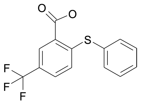 2-Phenylsulfanyl-5-trifluoromethyl-benzoic acid