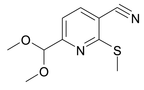 6-Dimethoxymethyl-2-methylsulfanyl-nicotinonitrile