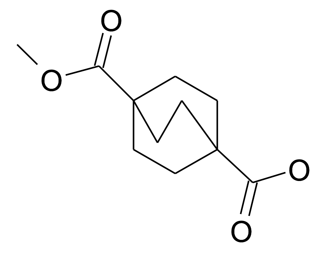 Bicyclo[2.2.2]octane-1,4-dicarboxylic acid monomethyl ester
