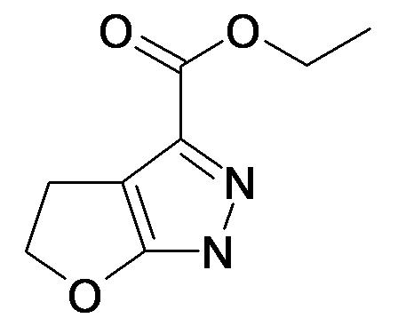 4,5-Dihydro-1H-furo[2,3-c]pyrazole-3-carboxylic acid ethyl ester