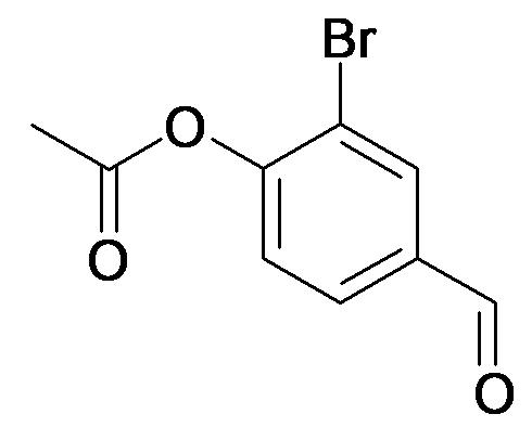 Acetic acid 2-bromo-4-formyl-phenyl ester
