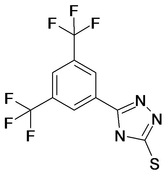 5-(3,5-Bis-trifluoromethyl-phenyl)-4H-[1,2,4]triazole-3-thiol