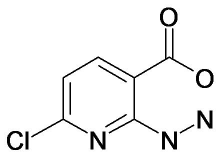 6-Chloro-2-hydrazino-nicotinic acid
