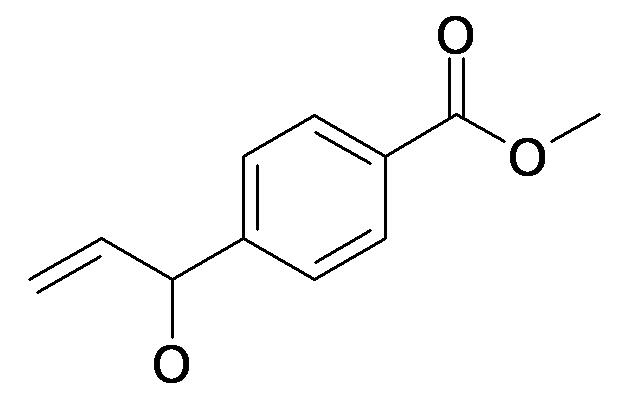 4-(1-Hydroxy-allyl)-benzoic acid methyl ester