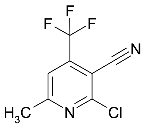 2-Chloro-6-methyl-4-(trifluoromethyl)nicotinonitrile