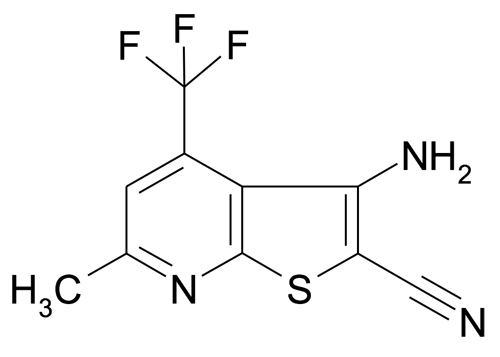 3-Amino-6-methyl-4-(trifluoromethyl)thieno[2,3-b]pyridine-2-carbonitrile