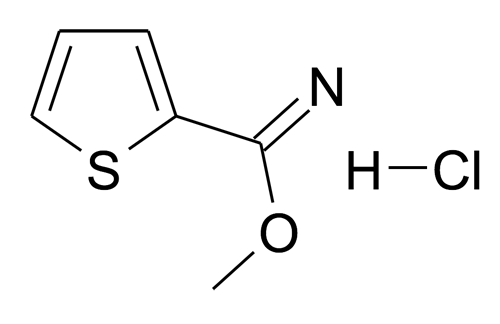 Thiophene-2-carboximidic acid methyl ester; hydrochloride