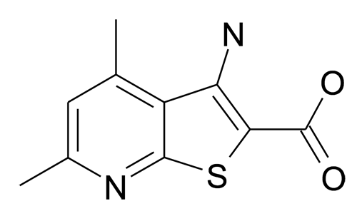 3-Amino-4,6-dimethyl-thieno[2,3-b]pyridine-2-carboxylic acid
