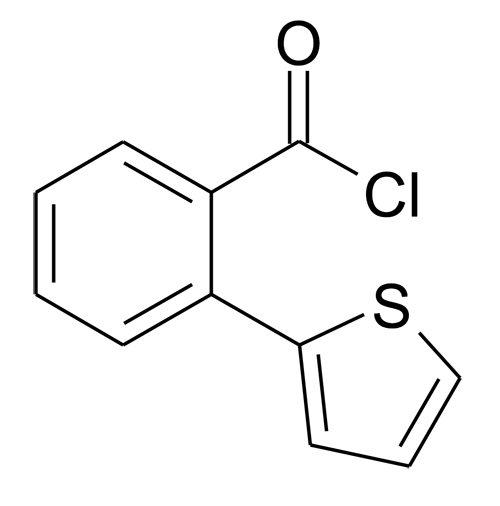 2-Thiophen-2-yl-benzoyl chloride
