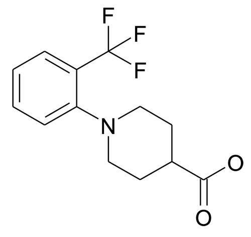 MFCD17329182 | 1-(2-Trifluoromethyl-phenyl)-piperidine-4-carboxylic acid | acints