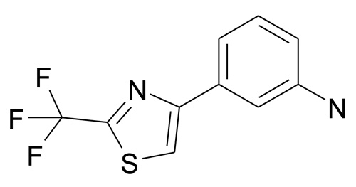 3-(2-Trifluoromethyl-thiazol-4-yl)-phenylamine